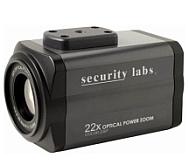 Цветные корпусные камеры со встроенным трансфокатором